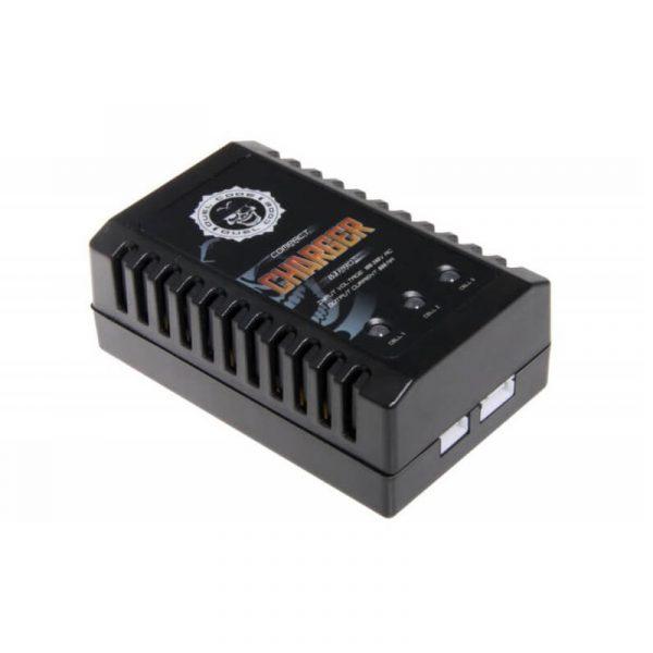 Carregador Elétrico Bateria Airsoft Lipo Compact Duel Code