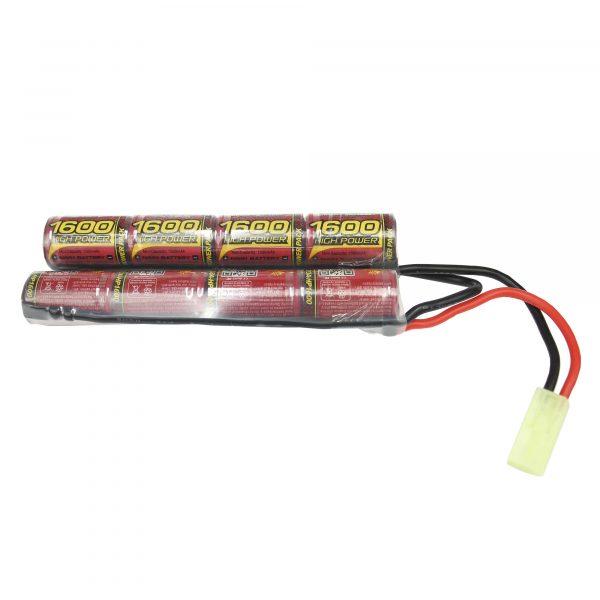 Bateria Lipo para Airsoft Butterfly 9,6V 1600Mah