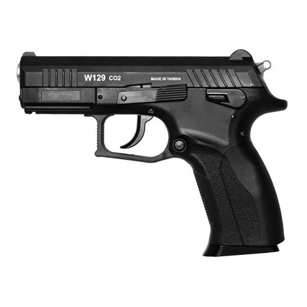 Pistola Airgun CZ300 W129 Slide Metal Co2 4,5mm