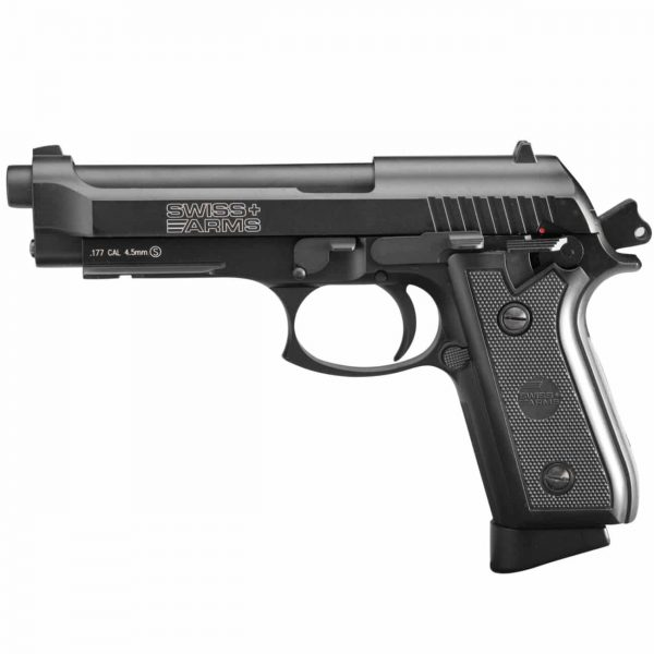Pistola Airgun Swiss Arms P92 Co2 Blowback 4,5mm