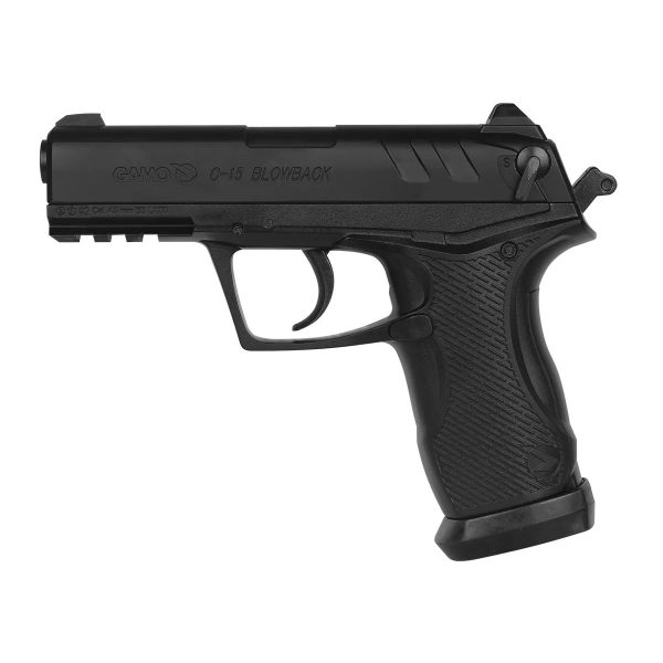 Pistola Pressão Airgun Gamo C-15 Blowback Co2 4,5mm