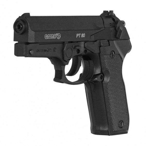 Pistola de Chumbinho Gamo PT-80 Co2 4,5mm