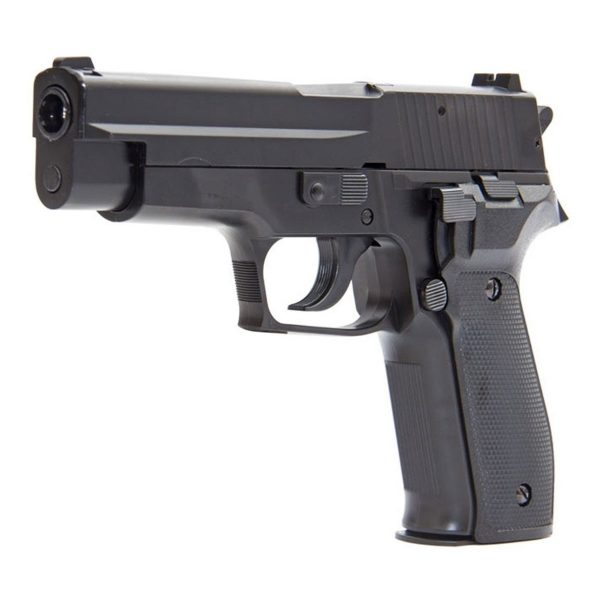 Pistola Airgun Pressão Kwc P226 Mola Metal 4,5mm