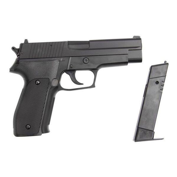 Pistola Airgun Pressão Kwc P226 Mola Metal 4,5mm