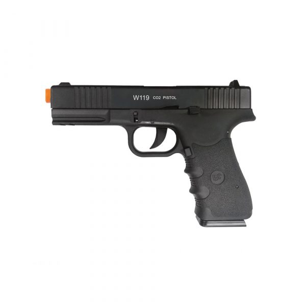 Pistola Airsoft Wingun W119 Slide Metal Co2 6mm