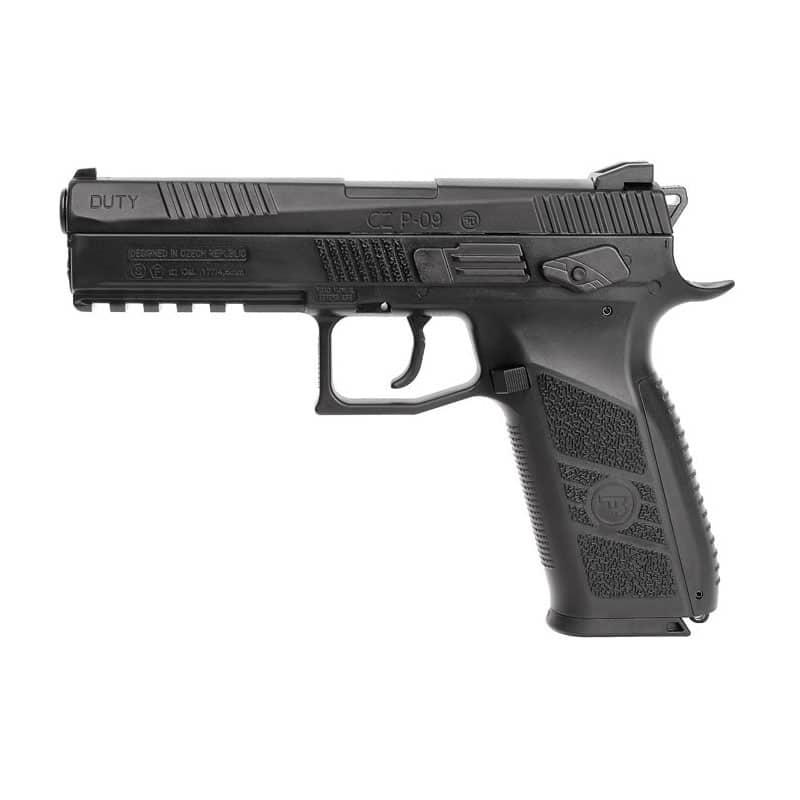 Pistola de Chumbinho CZ P-09 CO2 ASG 4,5mm