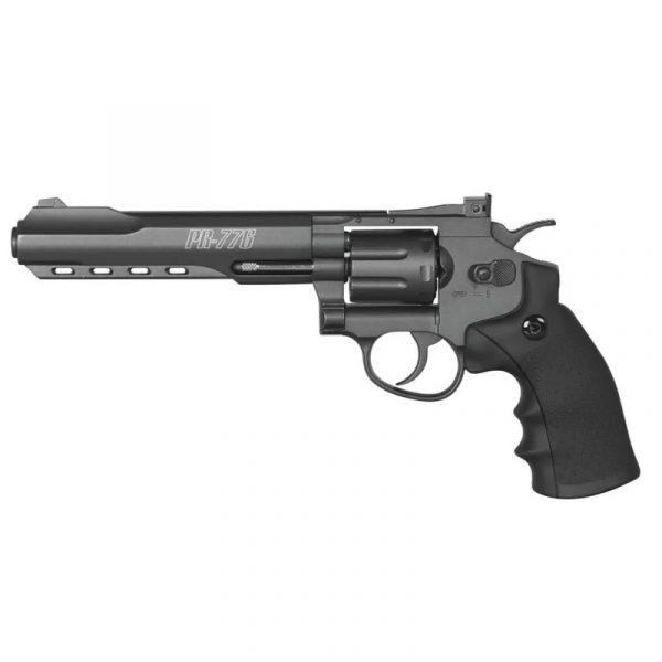 Revólver Gamo PR-776 de Pressão Co2 Chumbinho 4,5mm
