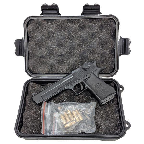 Miniatura Pistola Desert Eagle Black Shell Ejecting