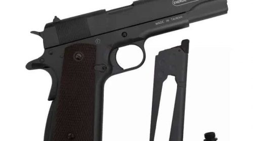 Pistola 1911 Co2 Swiss Arms Blowback Full Metal 4,5mm