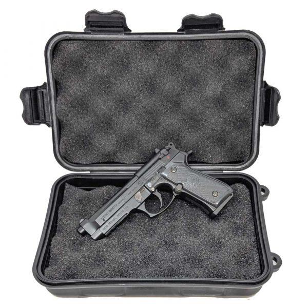 Miniatura de Pistola Beretta M92FS Black 1:2 Shell Ejecting