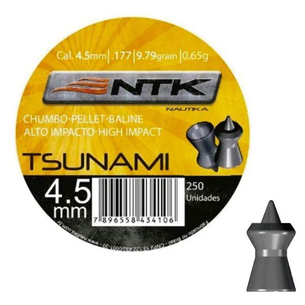 Chumbinho NTK Tsunami 4,5mm (.177) 250un