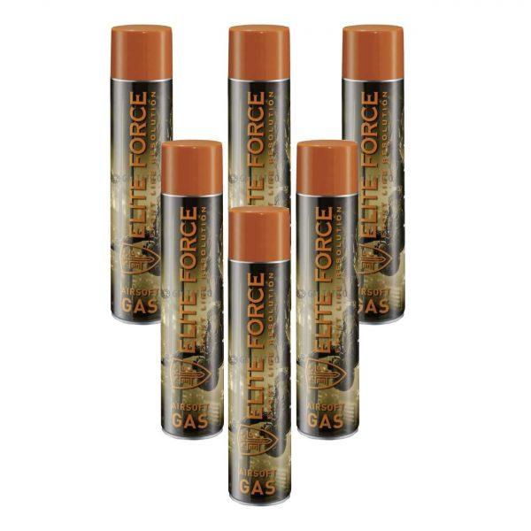 5 Tubos Green Gas Elite Force UMAREX 600ml