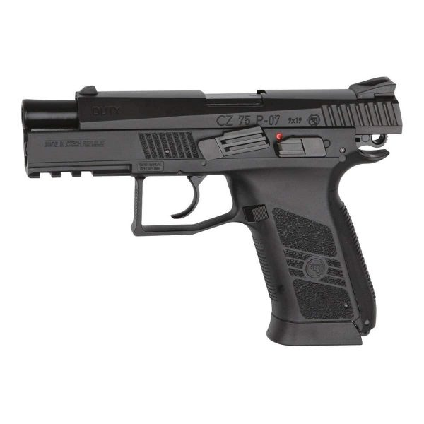 Pistola Airgun CZ75 P-07 Duty ASG CO2 4,5mm Kit