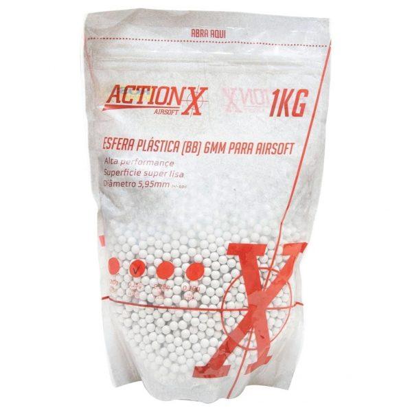 BBs Munição de Airsoft ActionX .25g 4000un