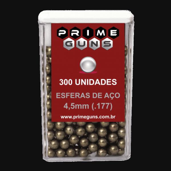 Pote de Esfera de Aço 4,5mm (1.77) para Armas de Pressão 300Un