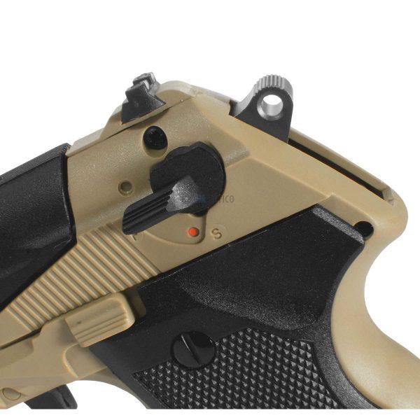 Pistola Gamo PT-85 Blowback Desert Co2 4,5mm Kit