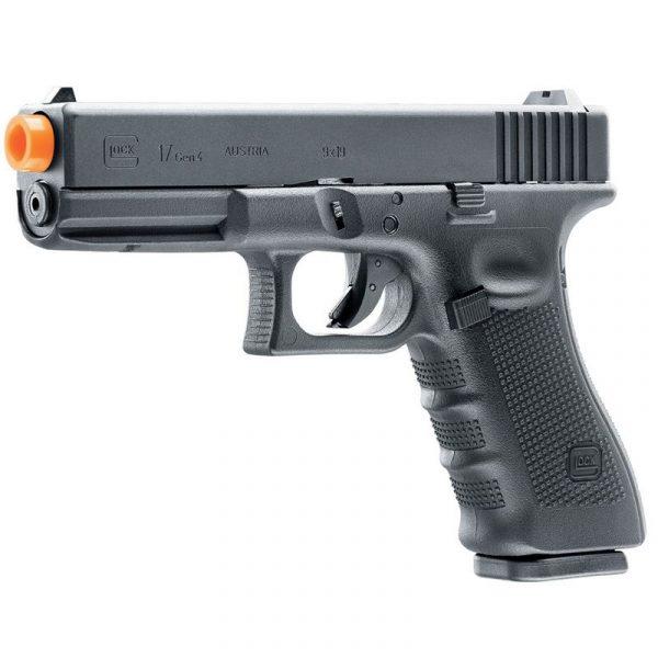 Pistola Airsoft Glock G17 Gen4 GBB Blowback Umarex 6mm Kit