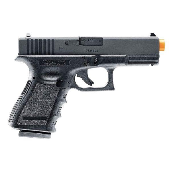 Pistola Airsoft Glock G19 GBB Blowback Umarex 6mm