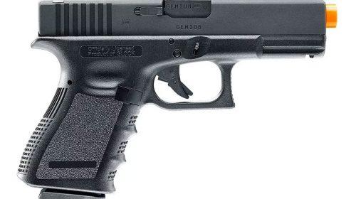 Pistola Airsoft Glock G19  Umarex Co2 6mm Kit