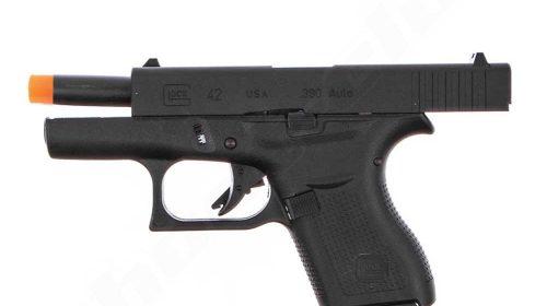 Pistola Airsoft Glock G42 GGB Blowback Umarex 6mm Kit