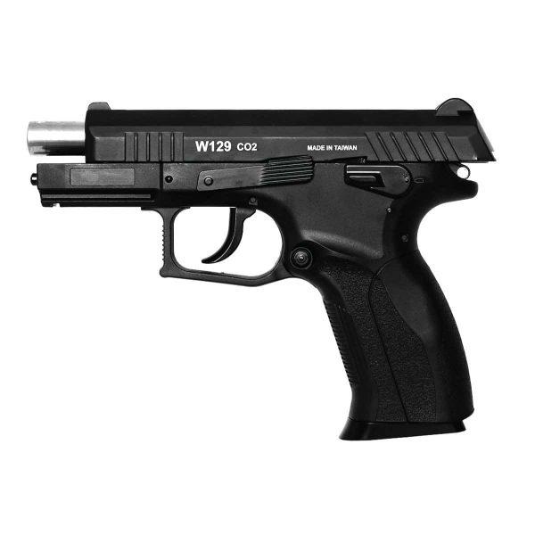 Pistola Airgun CZ300 W129 Slide Metal Co2 4,5mm