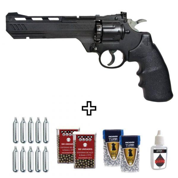 Revólver Chumbinho Crosman Vigilante CCP8B2 Co2 4,5mm