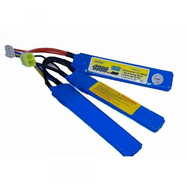 Bateria Lipo 11.1v 1300mAh 15c FFB-022 Feasso