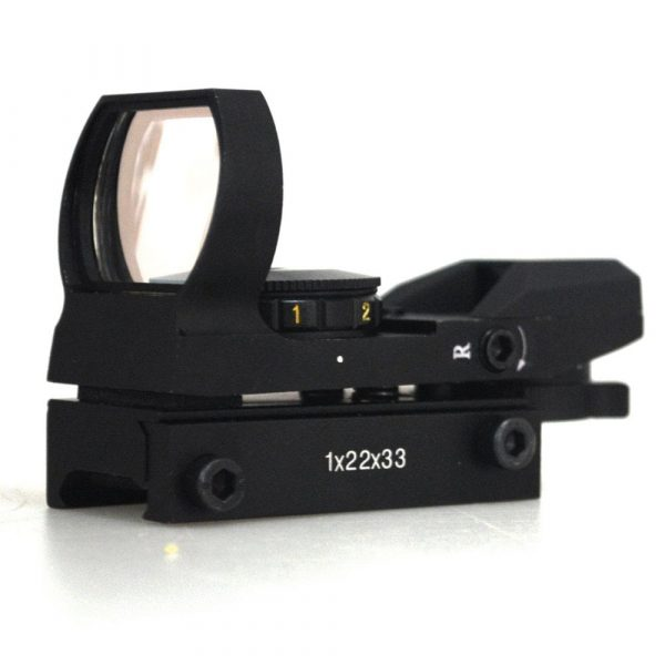 Mira Holográfica Green/Red Dot para Armas de pressão 11mm