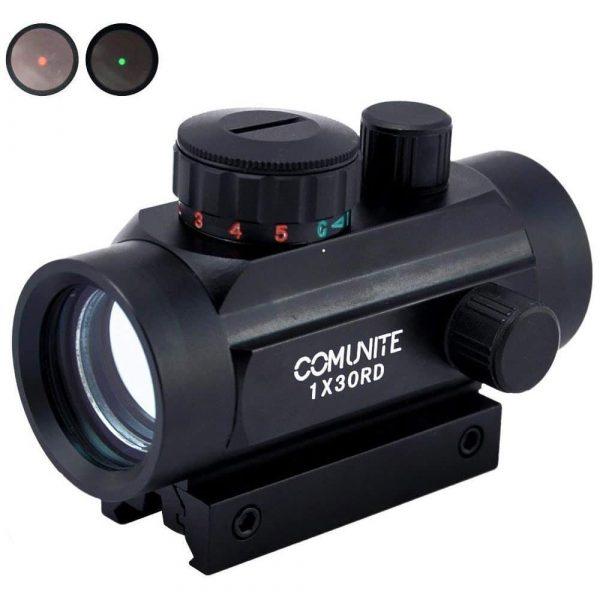 Mira Holográfica Comunite 1X30 Green/Red Dot para armas