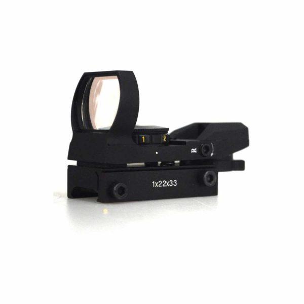 Mira Holográfica Green/Red Dot 1x22x33 4 Pontos 20mm