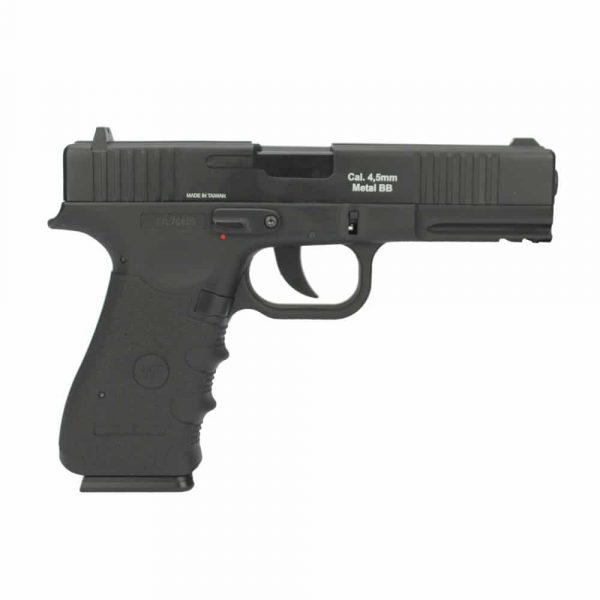 Pistola Airgun Glock W119 Co2 Blowback 4,5mm