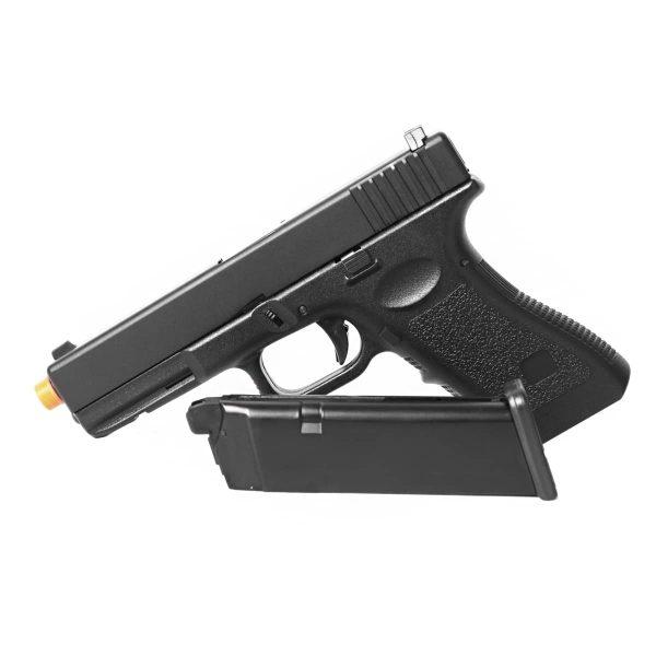 Pistola Airsoft Glock G18 Metal HFC GBB 6mm