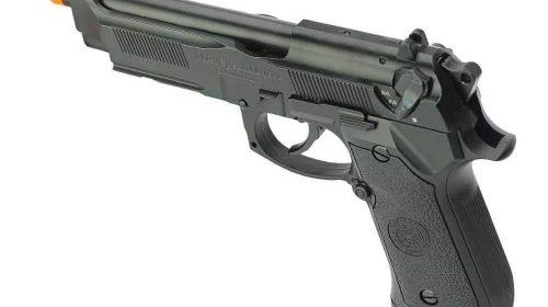 Pistola Airsoft PT92 HFC Blowback Metal GBB 6mm