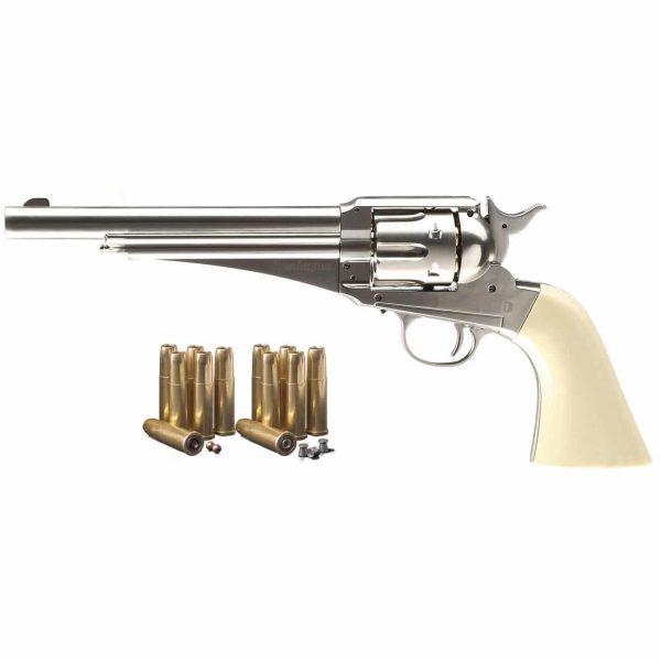 Revólver Remington 1875 Velho Oeste Co2 4,5mm Full Metal