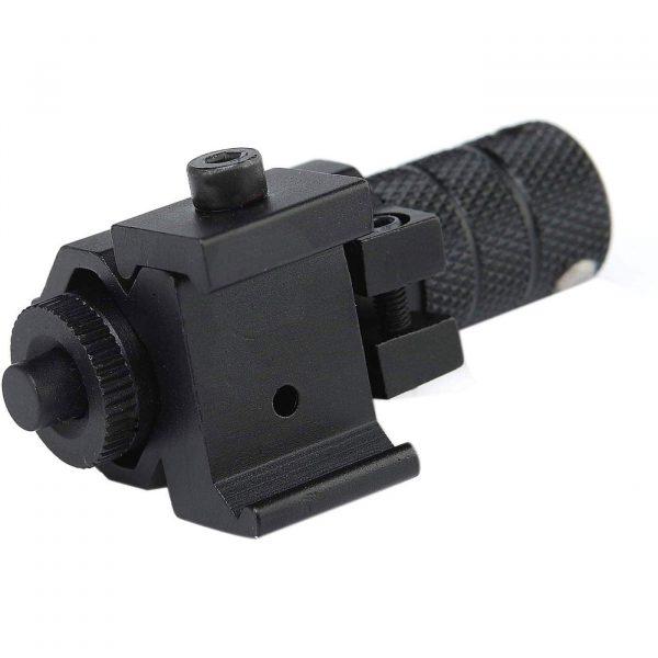 Mira Laser Ponto Vermelho Armas Airsoft e Airgun 22mm