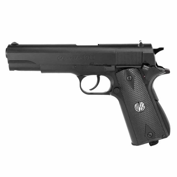 Kit Pistola Airgun Rossi 1911 W125B Co2 4,5mm