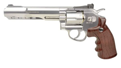 Revólver Rossi W702s Cromado 6″ Co2 4,5mm + Case