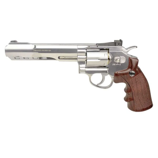 Revólver Airgun Rossi W702s Cromado 6″ Co2 4,5mm + Coldre