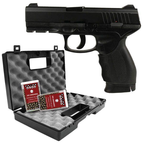 Kit Pistola Airgun KWC 24/7 Spring 4,5mm Full Metal
