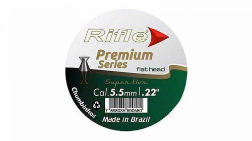 Chumbinho Rifle Premium Series 5.5mm .22 Flat Head 125unid