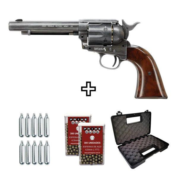 Revólver Colt Single Action Peacemaker Co2 4,5mm Umarex