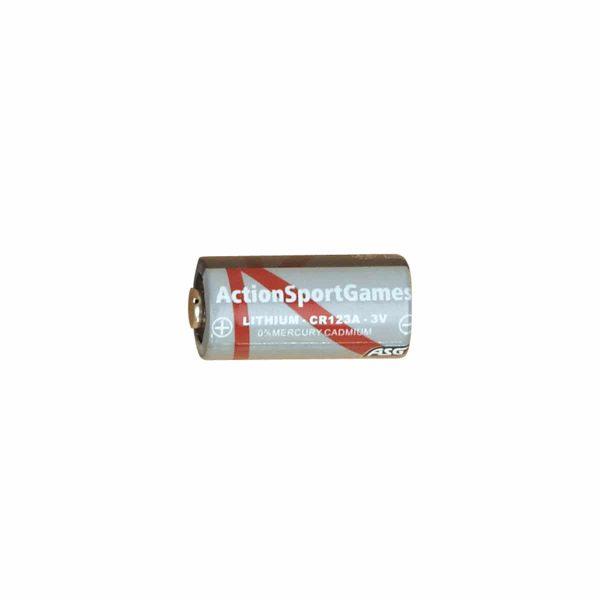 Bateria 3V Lithium CR123A unidade