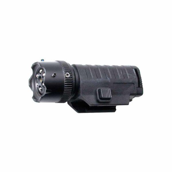 Lanterna Tática com Mira Laser ASG com mount 22mm