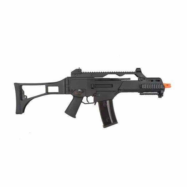 Kit Rifle G36c Tático GBB Army Blowback + Lanterna + Red Dot