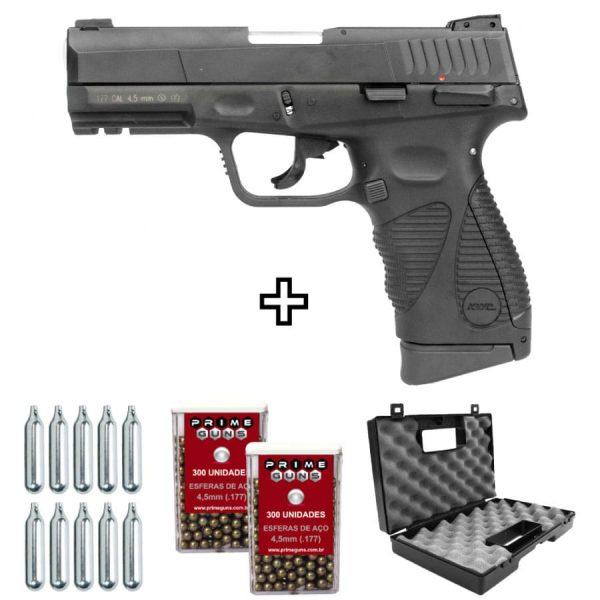 Pistola Airgun 24/7 G2 Co2 Blowback 4,5mm KWC Metal