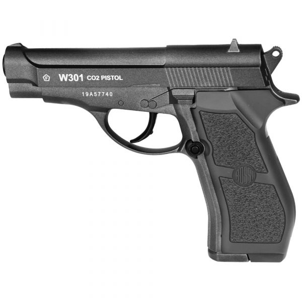 Pistola W301 Airgun CO2 Wingun 4,5mm Full Metal