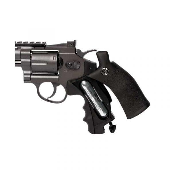 Revólver Airgun Rossi M701 Full Metal Co2 4,5mm kit