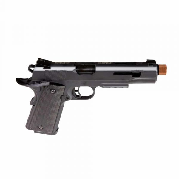 Pistola 1911 Rudis Secutor VI Airsoft GBB Blowback Full Metal