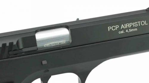 Pistola Ar Pré Comprimido PCP P45 Airgun Rossi