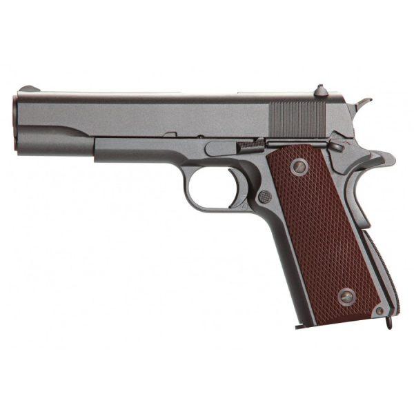 Pistola Airgun Colt 1911 Co2 4,5mm KWC Blowback Full Metal